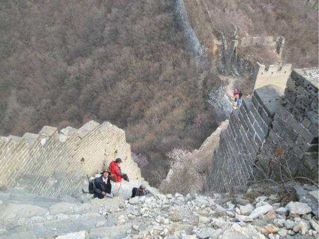 Hiking tour of the great wall From Jiankou to Mutianyu